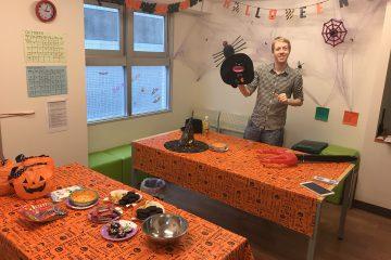 <お菓子作りの材料>二子玉川校ハロウィンイベントの準備
