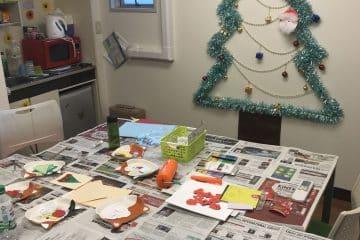 二子玉川校でクリスマス会を開催しました