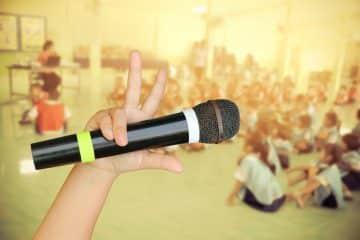 第3回スピーチコンテスト、「発表会」形式は中止、個別でビデオ撮影に